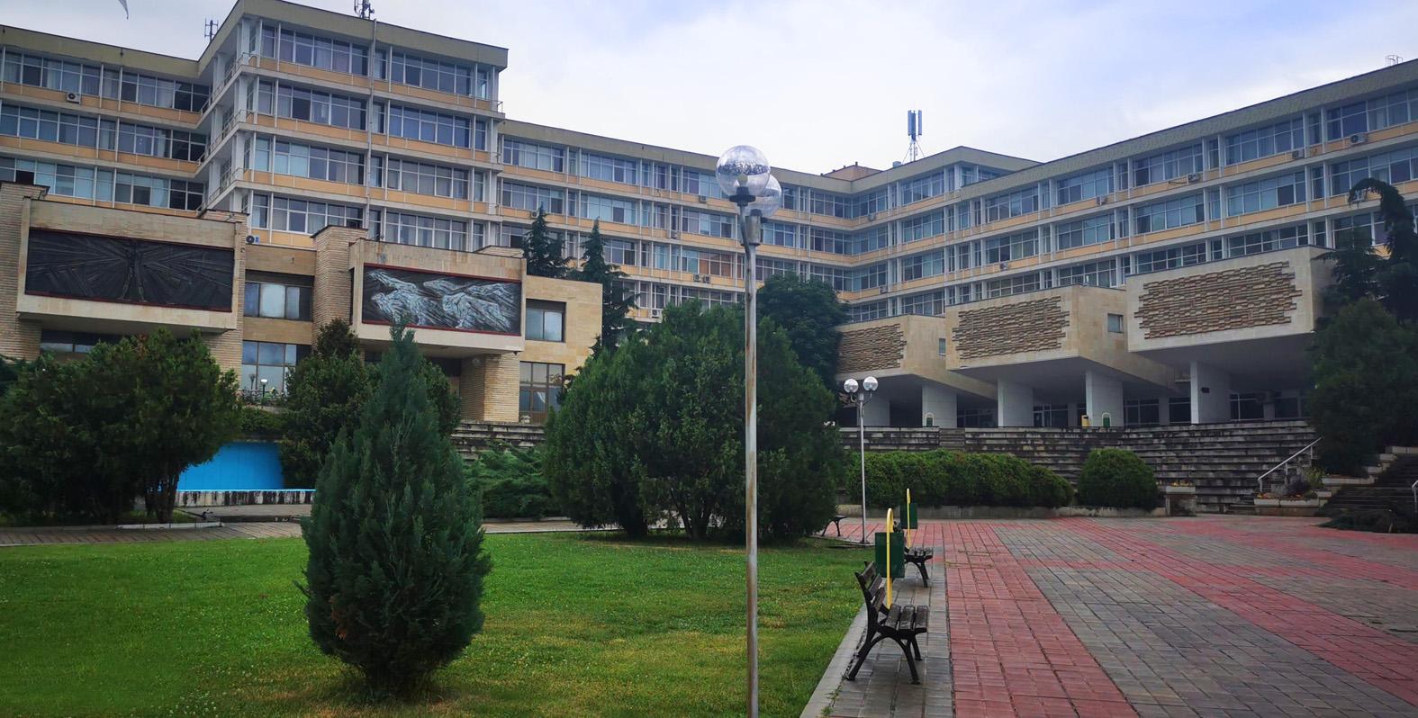 Widok kampusu