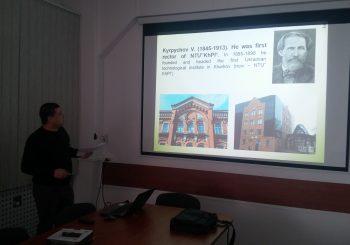 Zajęcia i spotkania z wykładowcami Politechniki Charkowskiej